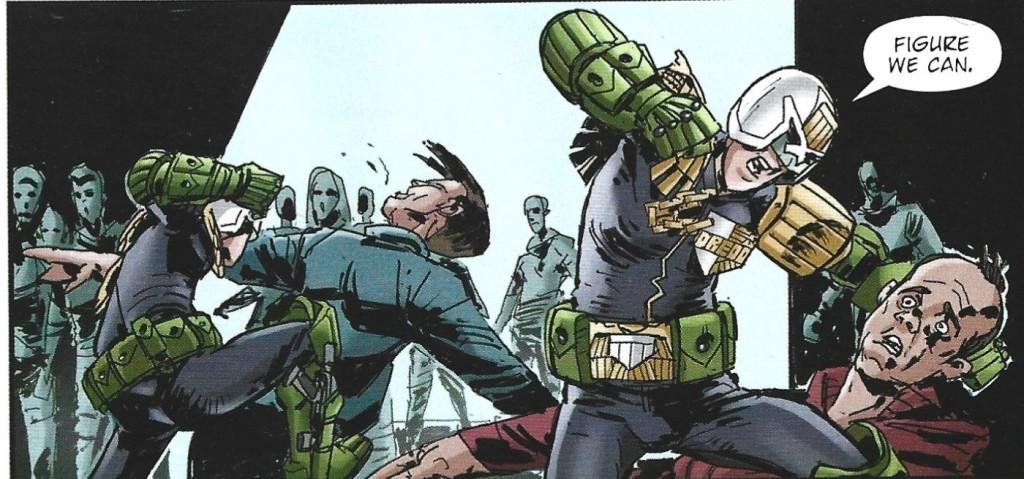 Cadet Dredd regened